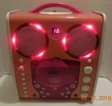 The Singing Machine SML-383P CDG Karaoke Machine Player