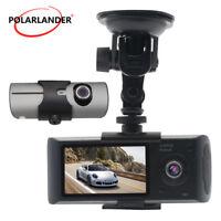 1080P Car DVR Caméra  Enregistreur Vidéo  Dash Cam Dual Lens GPS Nuit Vision