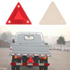 Safety Triangle Sign Plastic Car Rear Warning Board Vehicle Danger Reflective