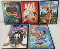 Disney DVD Bundle The Wild Chicken Little Lilo And Stitch Bolt Little Mermaid II
