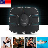 EMS Remote Control Abdominal Muscle Trainer Smart Body Building Fitness Abs USPS