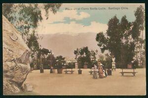 Mayfairstamps Chile Santiago Plaza En El Cerro Santa Lucia Postcard wwp73085