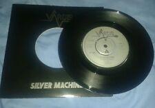 "Vardis - Silver Machine 7"" vinyl single - LOGO VAR-3"