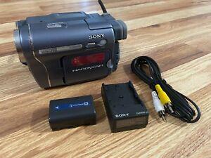 Sony CCD-TRV328 Hi8 Handycam Video Camera Recorder Camcorder Bundle Transfer