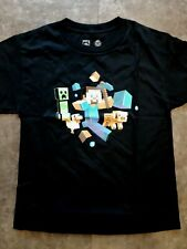 Jinx Official Minecraft Run Away Glow in the Dark T-Shirt YOUTH Xra-Large (NEW)
