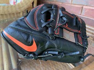 Nike AIR leather MVP Edge Baseball pro 11 Inch glove R-H Gold elite infielder