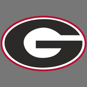 Georgia Bulldogs NCAA Football Vinyl Sticker Car Truck Window Decal Laptop