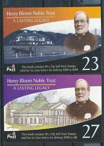 [16154] Isle of Man 2003 : Good Set 2 Very Fine Adhesive Complete Booklets