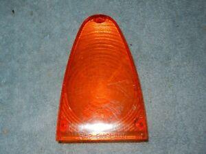 Sunbeam Alpine Series 1-3 Upper Tail Light Lens Lucas L642 Amber 54570436