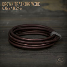 American Bonsai Brown Aluminum Training Wire - 6.0mm - 100 grams - 4ft - 100g