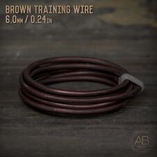 American Bonsai Brown Aluminum Training Wire - 6.0mm - 100 grams - 4ft - 100g