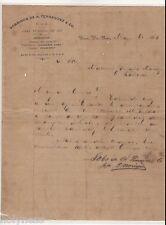 ANTIQUE COMMERCIAL LETTER / SOBRINOS DE A FERNANDEZ / PONCE PUERTO RICO / 1910