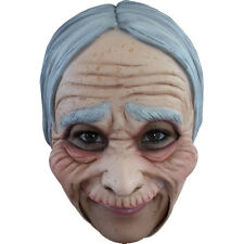 Old Woman / Lady Adult Jawless Full Overhead Latex Mask Ghoulish 27508