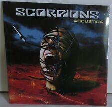 Scorpions Acoustica LP Vinyl Record new