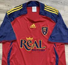 Real Salt Lake Men's XL Soccer Jersey RARE made by Adidas