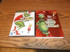 New ListingHow the Grinch Stole Christmas (Dvd 50th Birthday Edition) New + Slipcover