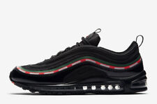 Undefeated X Nike Air Max 97 OG SZ 8.5 Black Speed Red Green AJ1986-001