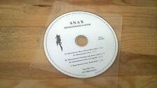 CD POP Snax-Honeymoon's Over (5 Song) MCD TNT/four music DISC ONLY