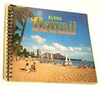 Vintage Souvenir Book Pamphlet Aloha Surfing Oahu Kauai Maui Hawaii Islands
