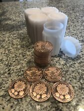 1oz AVDP .999 Copper BU Round USA Made COV-19 Molecule Coin FREE SHIPPING