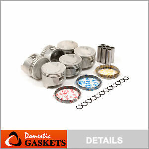Pistons and Rings fit 95-98 Nissan Mercury 3.0L SOHC V6 VG30E