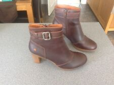 Reduced - ART RIO WOMEN'S ANKLE BOOTS - BROWN - STYLE - 296