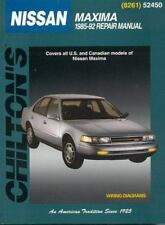 Total Car Care Repair Manuals: Nissan Maxima, 1985-92 by Richard T. Smith and...