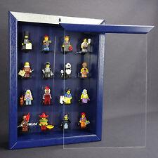 FiguCase Click Système Vitrine pour votre LEGO Série Le Film 71004 bleu