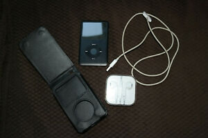 Apple iPod Classic 6th Gen A1238 80GB Keeps Charge, Works, Screen Has Dead Spots