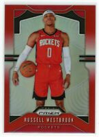 2019-20 RUSSELL WESTBROOK 035/299 PANINI PRIZM SILVER RED