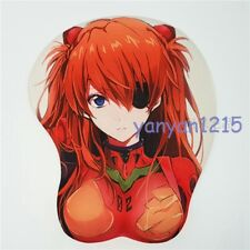 EVA Asuka Langley Soryu 3D Mouse Pad Chest Breast Silicone Soft Play Mat
