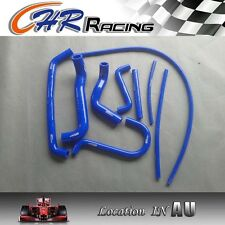 Blue for FORD FALCON AU1 AU2 4.0L 6 CYL 1998-2002 silicone radiator heater hose