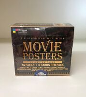 The Vintage Poster Collection - Movie Posters - Sealed Trading Card Hobby Box