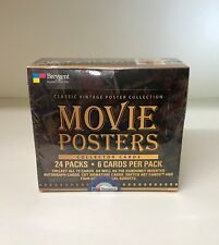 The Classic Vintage Poster Collection - Movie Posters - Sealed Card Box Breygent