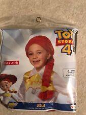 Disney Toy Story 4 Jessie Wig Hair Halloween Dress Up Costume Child Size New!