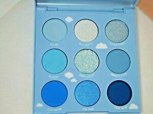 ❤ Colourpop Pressed Powder 9 Pan Eyeshadow Palette On Cloud Blue ❤ NIB