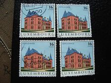 LUXEMBOURG - timbre yvert et tellier n° 1325 x4 obl (A30) stamp (A)