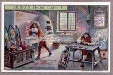 17th Century Enamel Art Artist Studio Art Kiln Oven 1905 Trade Ad Card: