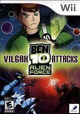 Ben 10: Alien Force - Vilgax Attacks Nintendo Wii -- CIB