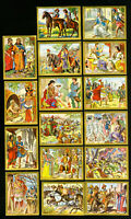 Germany Stamps Set of 15 early religion cards