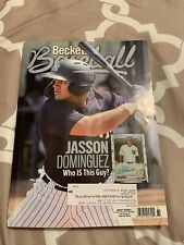 BECKETT BASEBALL AUGUST 2020 JASSON DOMINGUEZ NEW YORK YANKEES CV FRE* SHIPPING