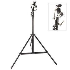 Light Stand with Swivel Bracket Hotshoe Mount Adapter Kit for Canon Nikon Flash