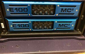 MC2 E100 power amplifier