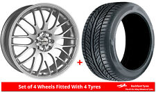 """Alloy Wheels & Tyres 15"""" Calibre Motion For Vauxhall Astra (4 Stud) [H] 04-09"""