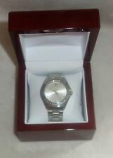 Timepieces by Randy Jackson SPORT SILVER Stainless Steel WATCH NEW