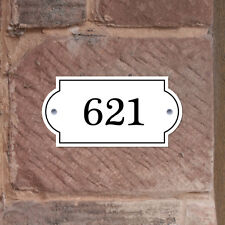 Metal House House Plaque,House Name & Number, Front Door Sign, Robust House Sign