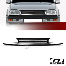 For 1993-1998 Vw Golf/1995+ Cabrio Mk3 Blk Horizontal Front Bumper Grill Grille