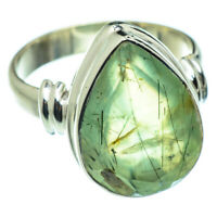 Prehnite 925 Sterling Silver Ring Size 7.5 Ana Co Jewelry R47628F