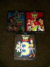 Toy story 1 2 3 blu ray 3d