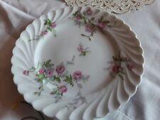 Kuchenteller  rosa Rose Limoges France Haviland